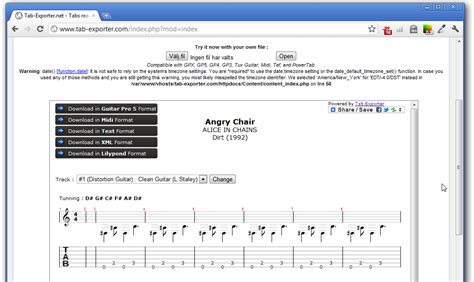 Format File Guitar Pro | open and convert guitar pro 6 gpx tab files in your web