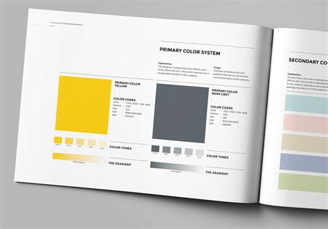 Brand Manual On Behance Brand Manual Template