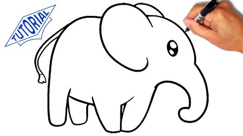 pictures to draw how to draw an elephant for simple