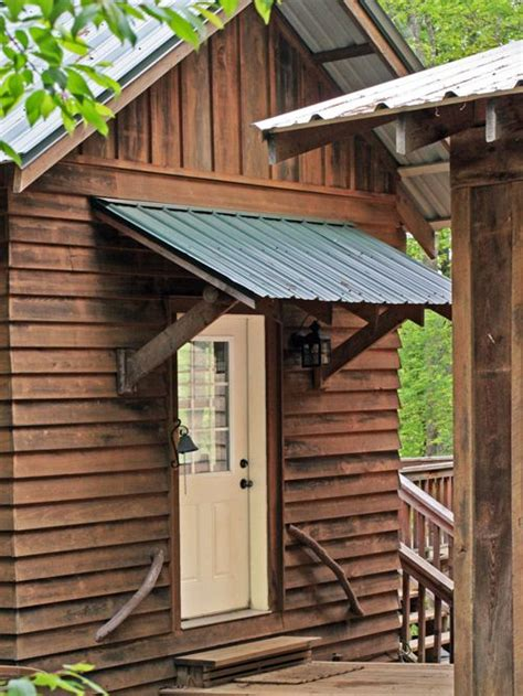 Awning Door by Rustic Awning Home Design Ideas Pictures Remodel And Decor