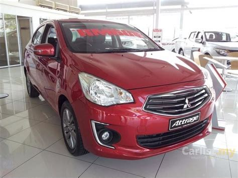 mitsubishi attrage 2016 mitsubishi attrage 2016 gs 1 2 in sarawak automatic sedan