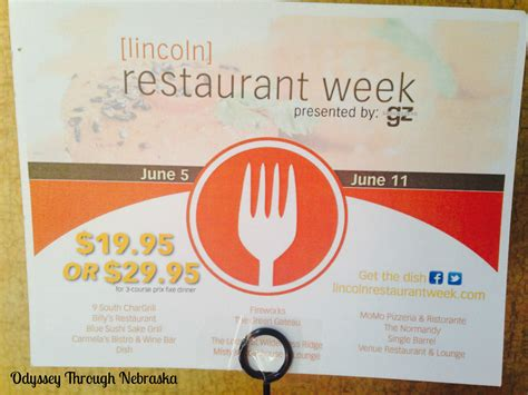 Revisiting Travel Week by Revisiting Fireworks For Lincoln Restaurant Week Odyssey