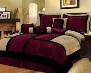 Pics Photos Burgundy And Gold Master Bedroom Designs
