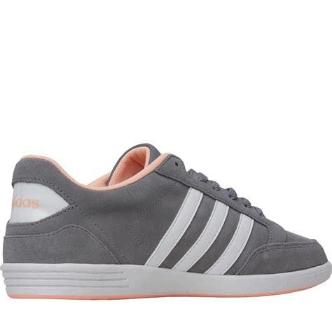 adidas neo womens hoops vl trainers grey white light