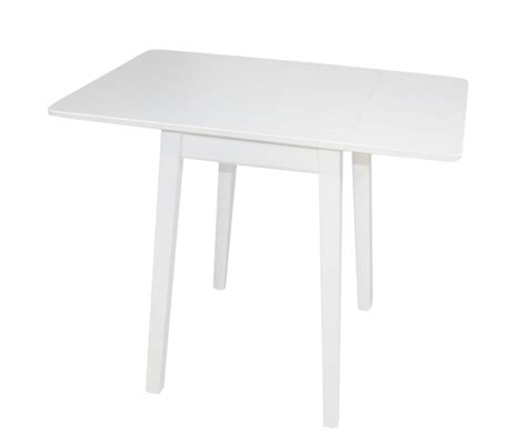 White Drop Leaf Dining Table Kayleigh White Large Drop Leaf Table Only