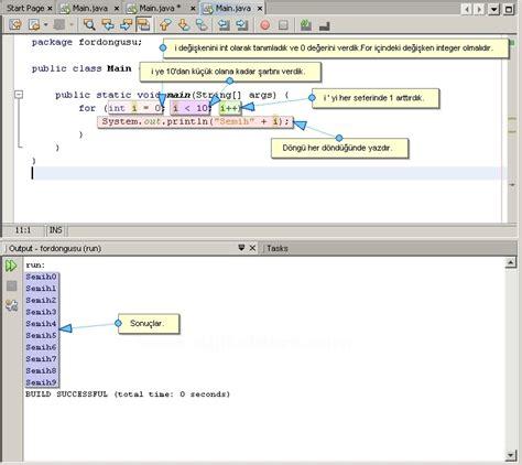 java layout kullanimi java applet temelleri do while while for d 246 ng 252 leri