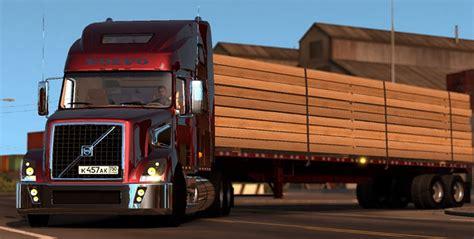 volvo 880 truck volvo vt880 truck truck simulator mod ats mod