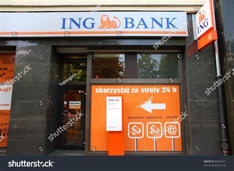 Poznan Poland June 7 Ing Bank Stock Photo 96865531