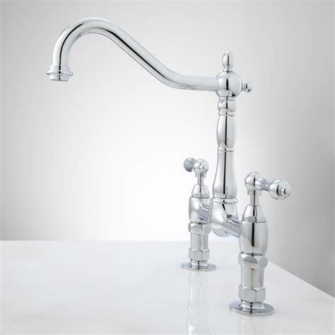 Bridge Style Kitchen Faucets Black Bridge Style Kitchen Faucet Leaking Outdoor Faucet