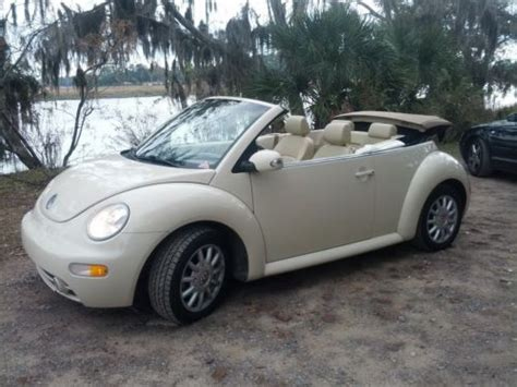 purchase   volkswagen beetle gls convertible automatic leather fact clean carfax