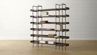 beckett 6 high shelf in bookcases crate and barrel