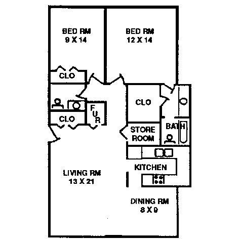 two bedroom two bath apartment floor plans 2 bedroom apartment typical floor plan quail creek
