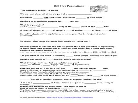 Bill Nye Rocks And Soil Worksheet by Bill Nye Rocks And Soil Worksheet Worksheets