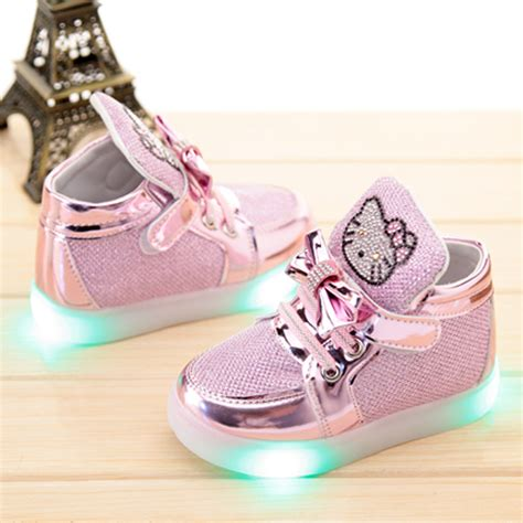 Sneakers With Lights by Children Shoes With Light 2016 Baby Sneaker Led Shoes Running Sport Flash Sneaker