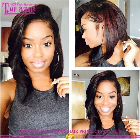 bob quick weave part in middle best products short u part wigs middle part remi u part