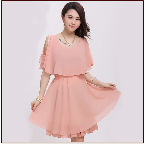 hairstyles for casual dresses free shipping 2017 new chiffon dress white summer dress
