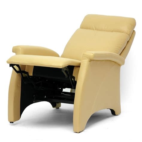 yellow recliner chair leather recliner chairs yellow image 08 small room