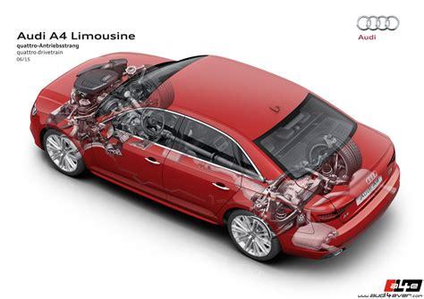 Audi A3 Quattro Oder Frontantrieb by Audi4ever A4e Detail Presse Die Neuen Audi A4