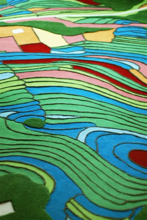 Aerial Area Rug Aerial Rugs Images From Above Converted To Carpet Patterns Urbanist