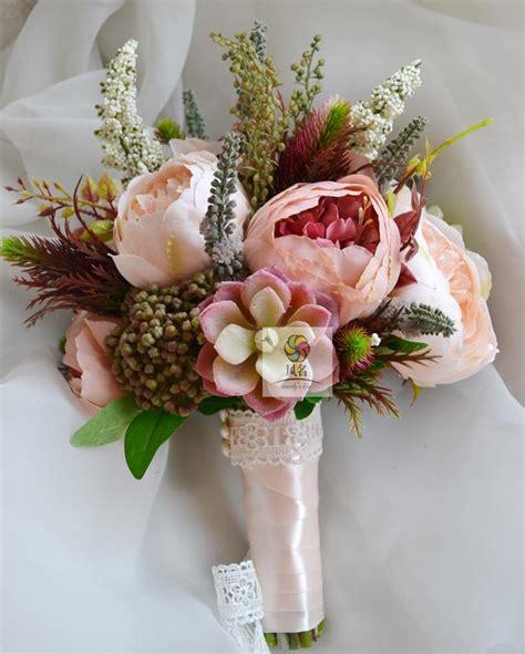 handmade wedding supplies bridal bridesmaid bouquet