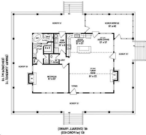 653630 great raised cottage with wrap around porch and house plans porches photos