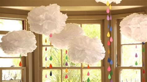 How To Make 3d Clouds Out Of Paper - how to make tissue paper clouds