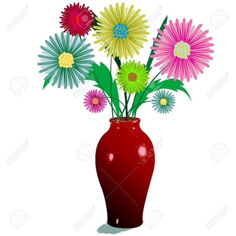 Flowers In A Vase Clipart by Clipart Flowers In Vase Clipartsgram