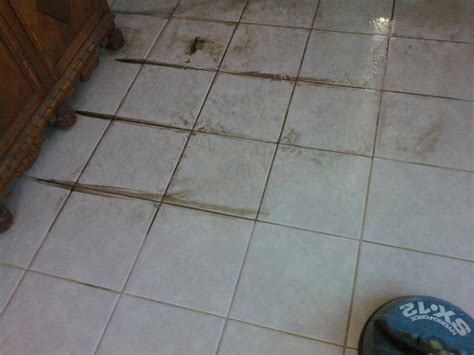 Grout Cleaning Before And After Tile And Grout Cleaning In Oldsmar