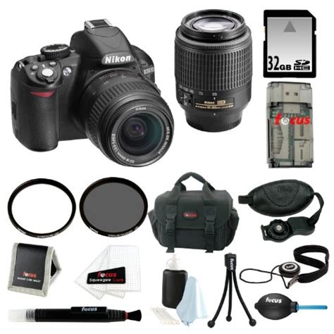 Nikon D3100 Lensa Kit 18 55mm nikon d3100 14 2mp digital slr zoom lens kit with