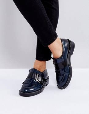 Shoes Manik Tengkorak Navy 31 37 s flat shoes ballet flats oxfords brogues