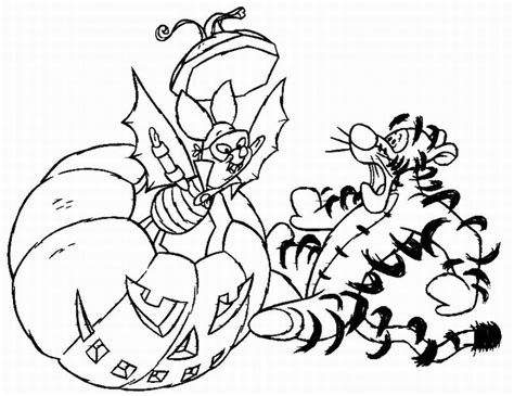 free coloring pages halloween disney halloween coloring pages