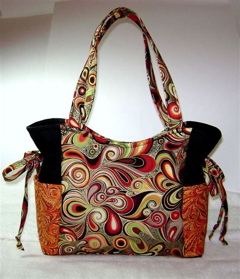 Handmade Fabric Handbags - 17 best ideas about fabric purses on handmade
