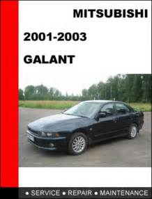 Mitsubishi Galant 2001 Manual Mitsubishi Galant 2001 2003 Factory Service Repair Manual