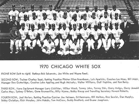 thedeadballera 1970 chicago white sox team photo
