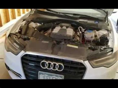 Audi Change by How To Change On 2011 2015 Audi A6 C7 4g 3 0t