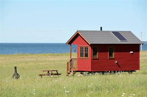 Eco Homes Plans Waterfront Off Grid Tiny Houses In Quebec