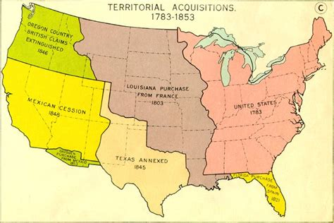 united states map louisiana purchase gadsden purchase sheep