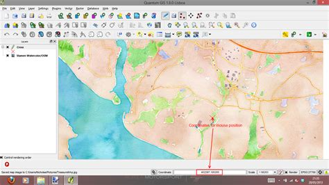 coordinates on a map how to make a treasure map using free gis something for