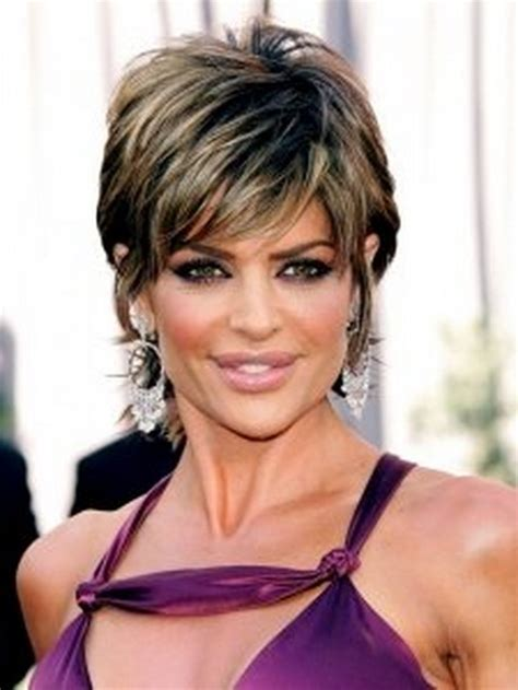 hairdresser for lisa rinna short shag hairstyles