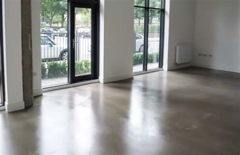 Poured Resin Floor by Resin Flooring Microcrete Polished Concrete Floors