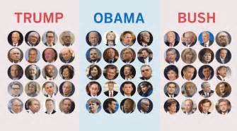 obama cabinet members 2008 how s cabinet picks compare to obama and bush s