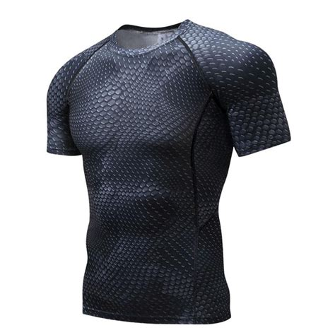 T Shirt Kaos Supehero Topgear The Flash 2 mens fitness 3 d prints sleeves t shirt bodybuilding skin tight thermal compression