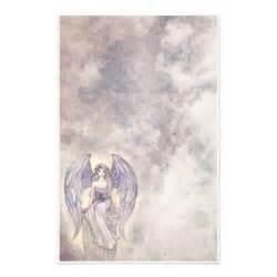 beautiful mystic angel stationary stationery zazzle