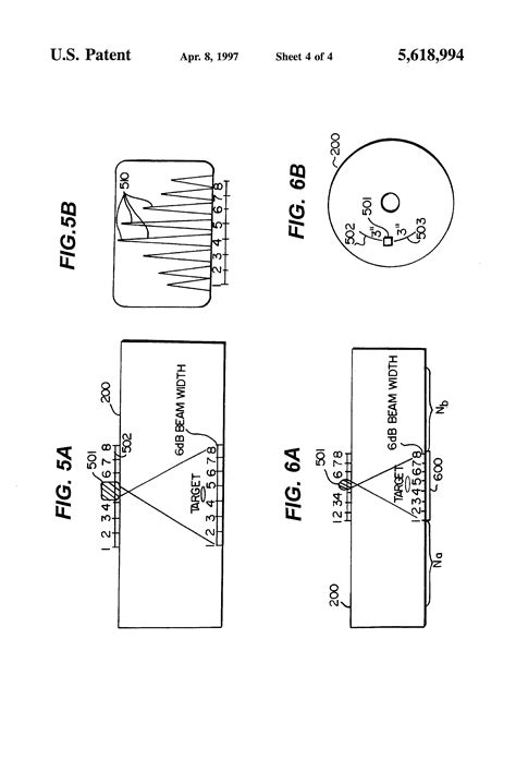 Patent US5618994 - Calibration method using a Pitch-Catch