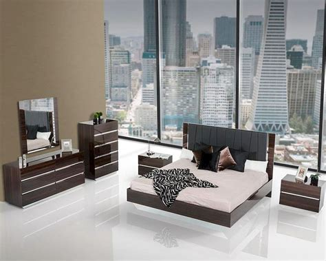 lacquer bedroom set contemporary luxury lacquer bedroom set 44b116set