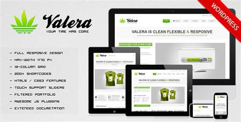 valera responsive wordpress theme wordpress themeforest