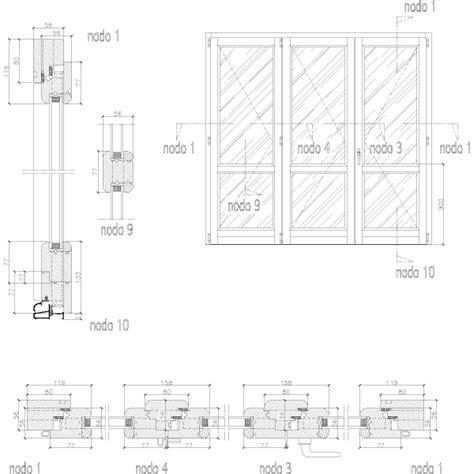 blocchi cad porta porta finestra legno gratis dwg particolari cad