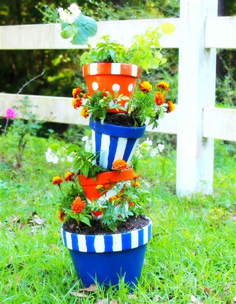 Topsy Turvy Planters by Of The Month Diy Garden Project Topsy Turvy