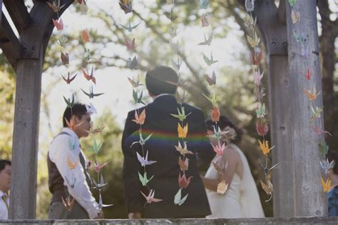 origami cranes wedding paper wedding decorations your wedding ceremony