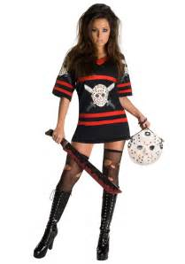womens halloween costumes with masks jason voorhees costume